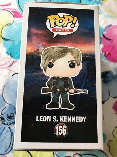 funko pop! leon s kennedy resident evil original modelo 156