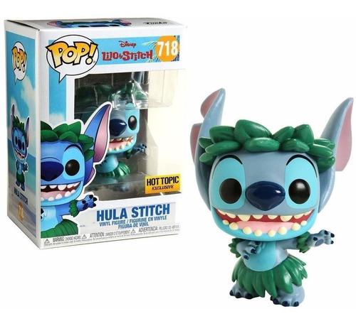 funko pop! lilo & stitch hula stitch 718 hot topic original