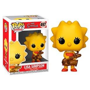 funko pop lisa simpson - the simpsons
