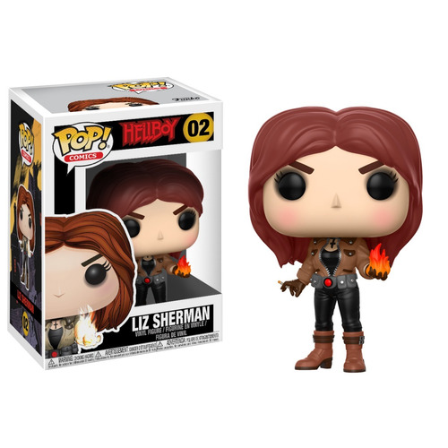 funko pop liz sherman 02 hellboy