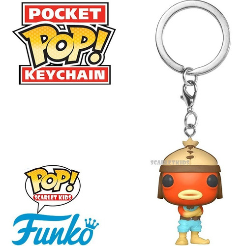 funko pop llavero fortnite fishstick original scarlet kids