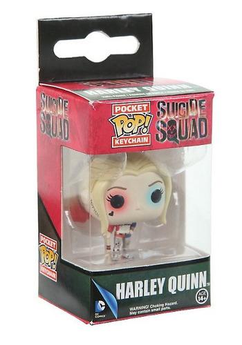 funko pop llavero harley quinn suicide squad dc comics vinyl