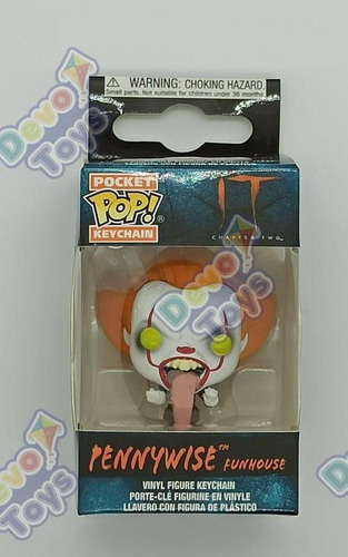funko pop-llavero it 2 - pennywise funhouse -devotoys