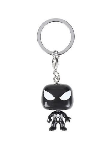 funko pop llavero spiderman black suit negro exclusivo
