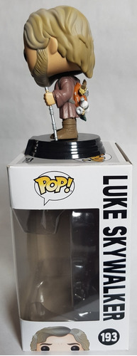 funko pop luke skywalker star wars viii