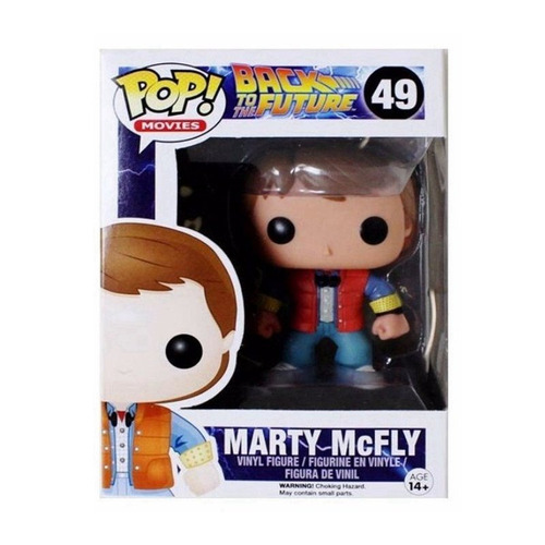 funko pop martin mcfly  back to the future mf