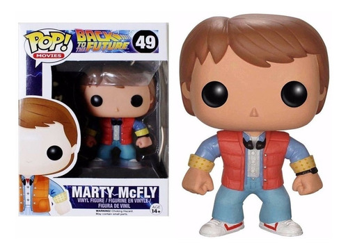funko pop marty mc fly #49 volver al futuro