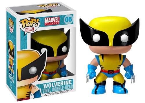 funko pop marvel #05 x men wolverine nortoys
