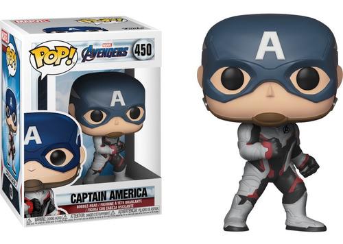 funko pop! marvel #450 endgame captain america nortoys