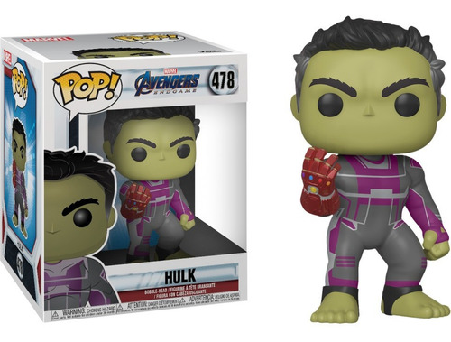 funko pop! marvel #478 endgame hulk tony gauntlet 6  nortoys