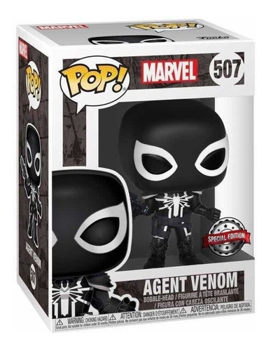 funko pop! marvel agent venom special edition # 507 replay