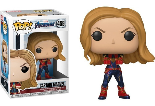 funko pop marvel avengers endgame 459 captain marvel