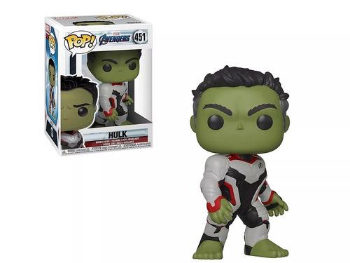 funko pop marvel avengers endgame hulk #451 original