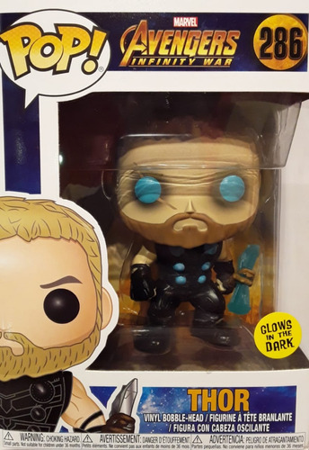 funko pop marvel avengers infinity war thor #286 nortoys