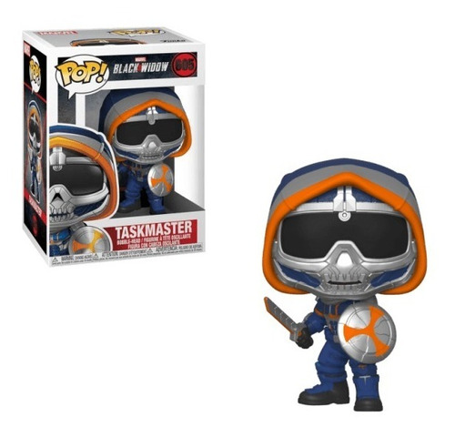 funko pop marvel black widow - taskmaster #605