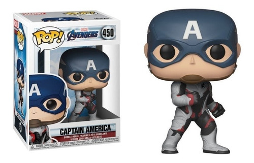 funko- pop marvel capitan america #450 / mipowerdestiny