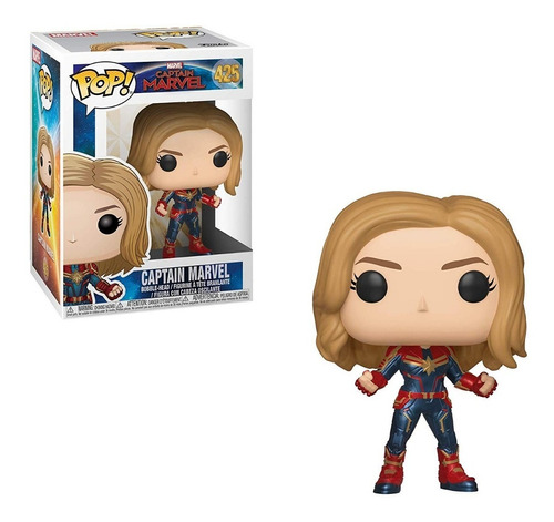 funko pop marvel captain marvel: captain marvel