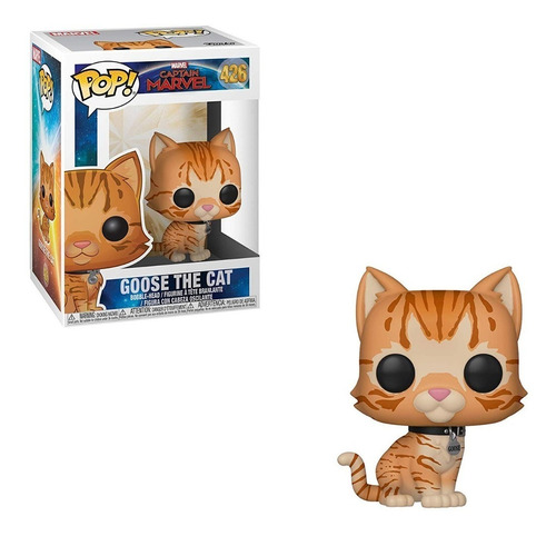 funko pop marvel captain marvel goose the cat