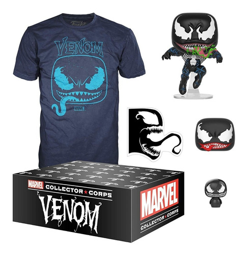 funko pop marvel collector corps venom