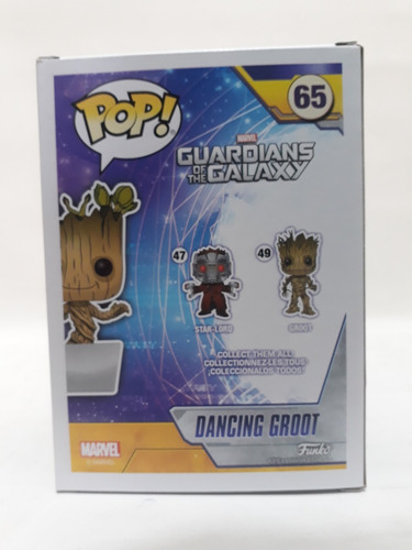 funko pop marvel dancing groot 65