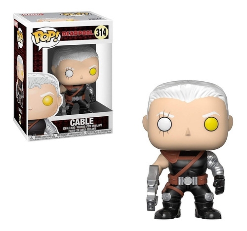 funko pop marvel deadpool parody cable