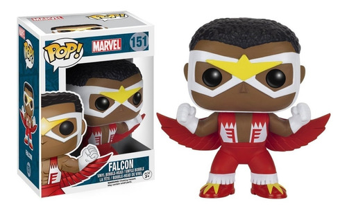 funko pop! marvel falcon #151 / mipowerdestiny