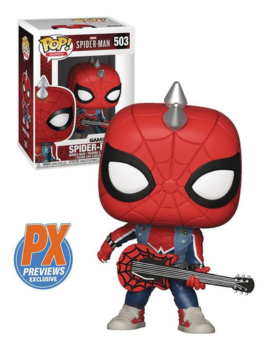 funko pop marvel gamerverse spider-man ps4 - spider-punk 503