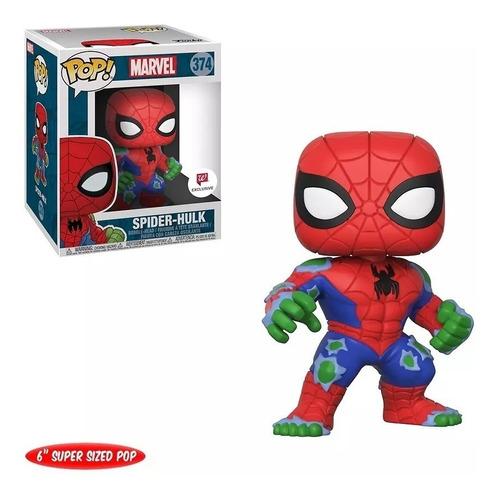 funko pop : marvel - spider hulk #374 6 pulgadas