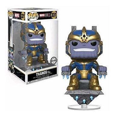 funko pop ! marvel studios # 331 - thanos with throne