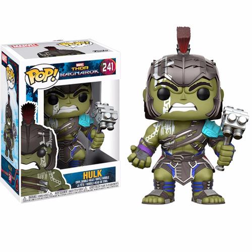 funko pop marvel thor ragnarok hulk gladiador #241