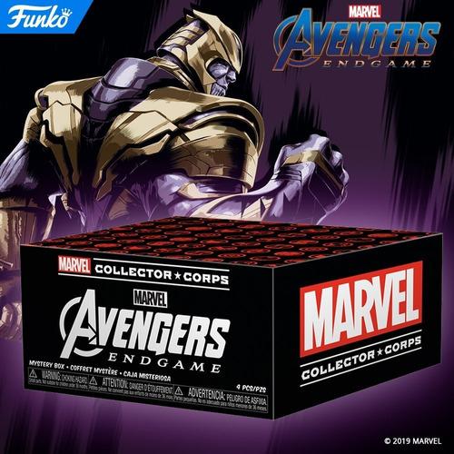funko pop! marvel: ultimato end game box collector