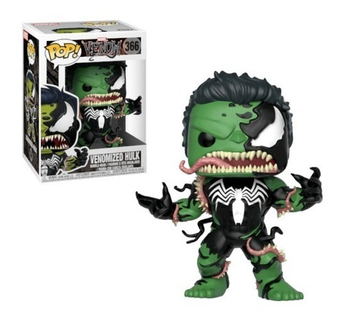 funko pop marvel venom venomized hulk