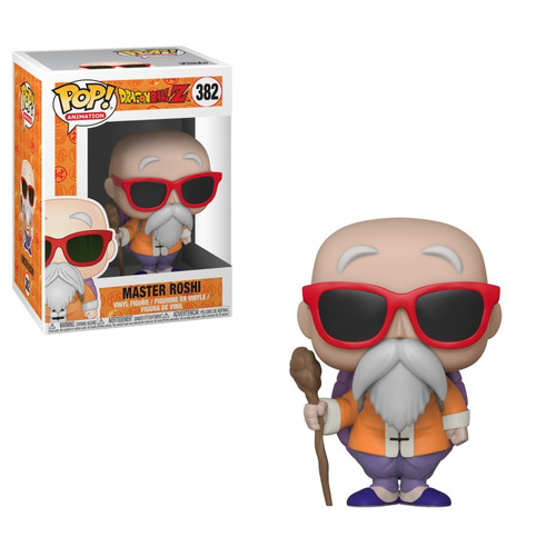 funko pop master roshi 382 dragon ball z