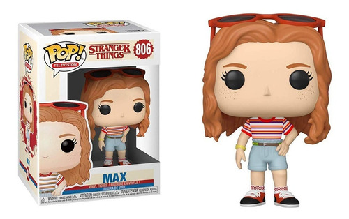 funko pop max #806 stranger things 3 jugueterialeon