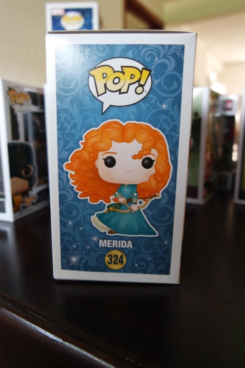 Disney Princesas-Merida Valiente Pop Vinilo Figura #324!