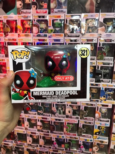 funko pop mermaid deadpool nuevo