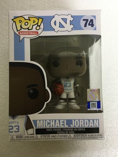 funko pop michael jordan 74 away jersey north carolina nba