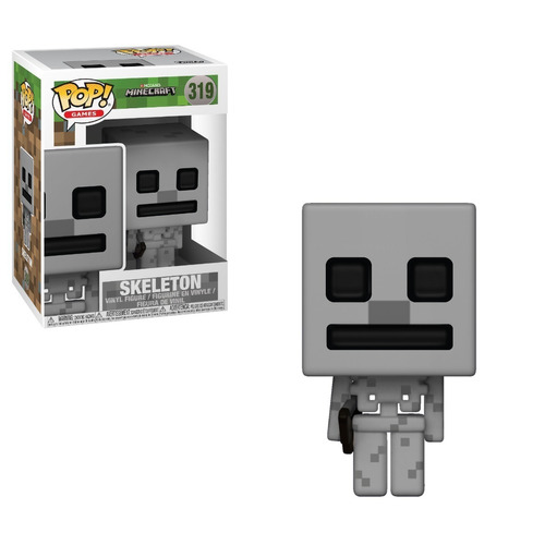 funko pop! minecraft - skeleton #319