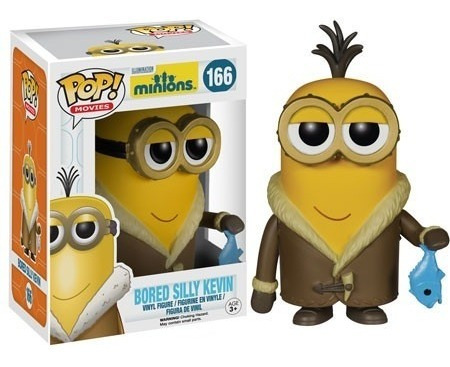 funko pop minions kevin silly #166