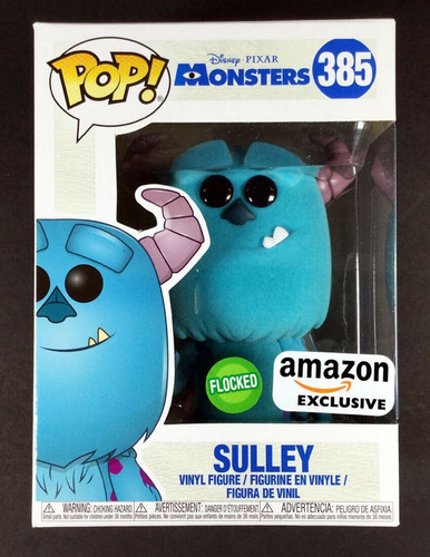 funko pop monster inc sulley flocked exclusive