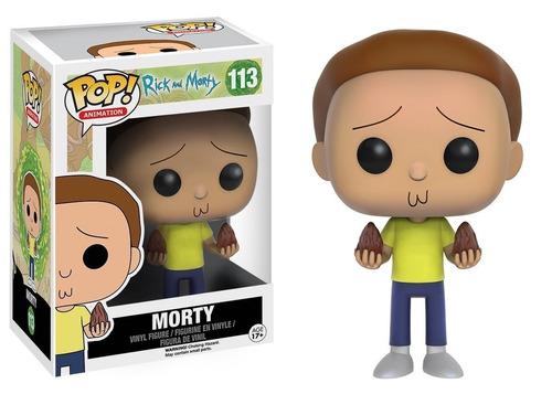 funko pop morty 113 rick & morty nuevo en caja