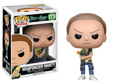 funko pop morty armado #173 rick and morty jugueterialeon