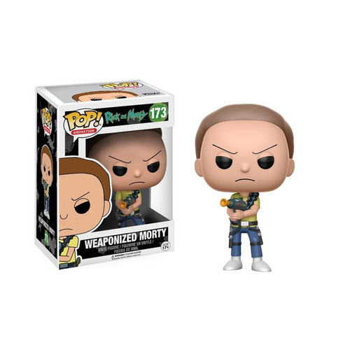 funko pop morty weaponized #173 rick and morty