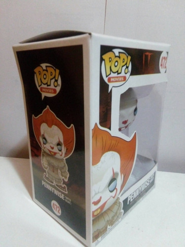 funko pop movies: it pennywise with boat eso