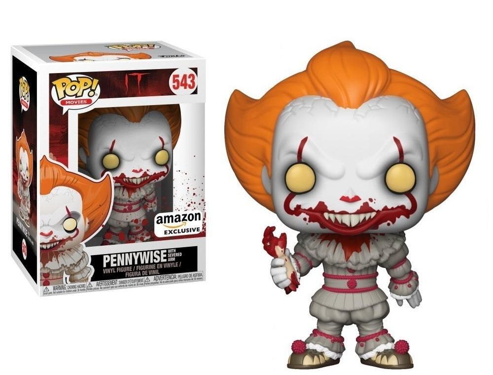 Funko Pop Movies It Pennywise With Severed Arm Nuevo