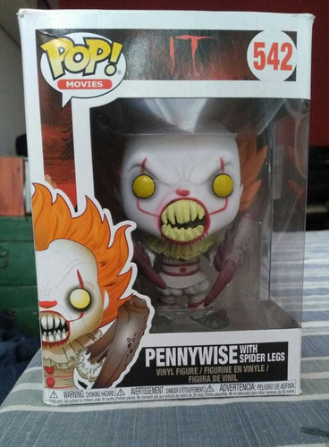 funko pop movies- it pennywise with spider legs
