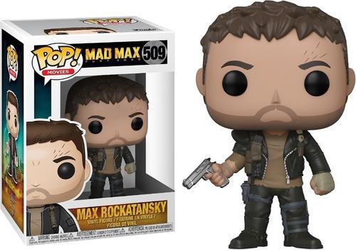 funko pop! movies max rockatansky mad max fury road 509