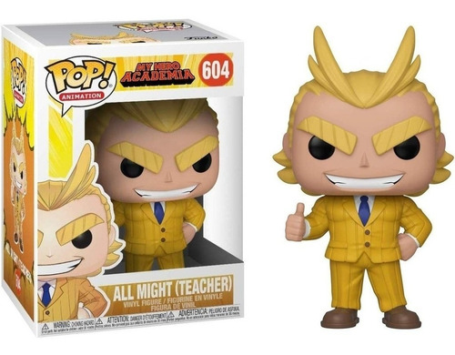 funko pop! - my hero academia - s03 - all might (teacher)
