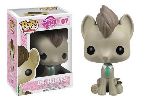 funko pop my little pony dr. hooves (vaulted)