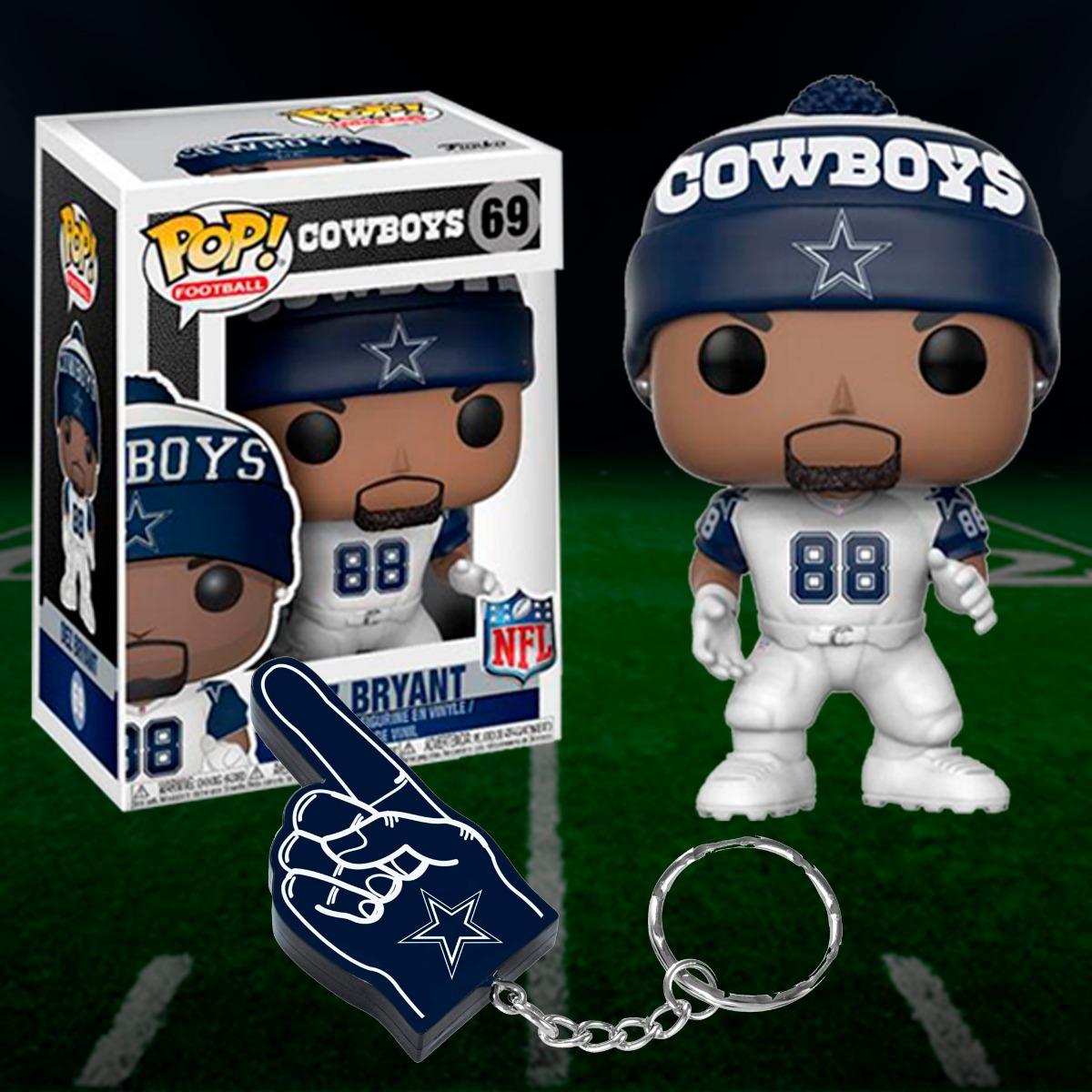 Funko Pop Nfl Dez Bryant Chaveiro Dallas Cowboys